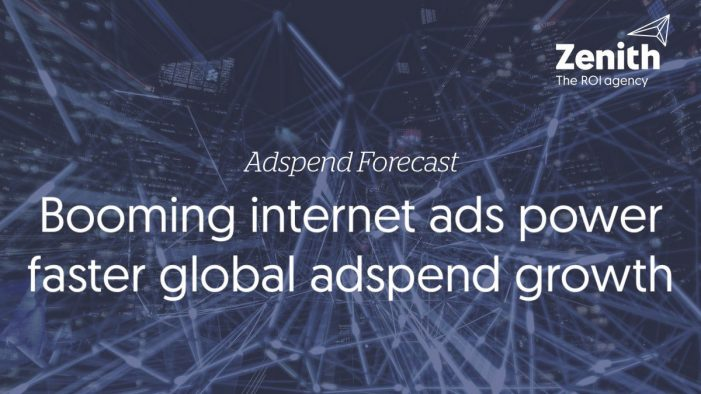 Booming internet ads power faster global adspend growth, says Zenith