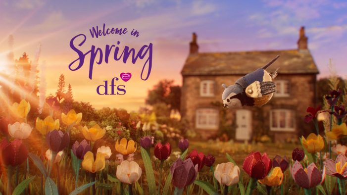 krow creates DFS campaign to celebrate the joy of spring