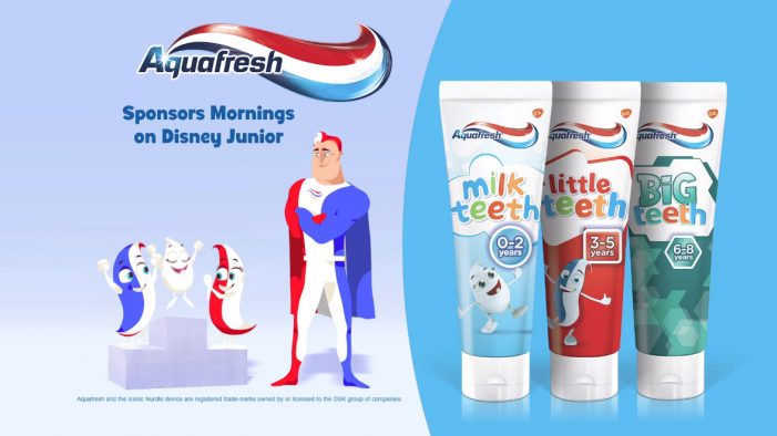 Aquafresh unveils partnership with Disney Junior