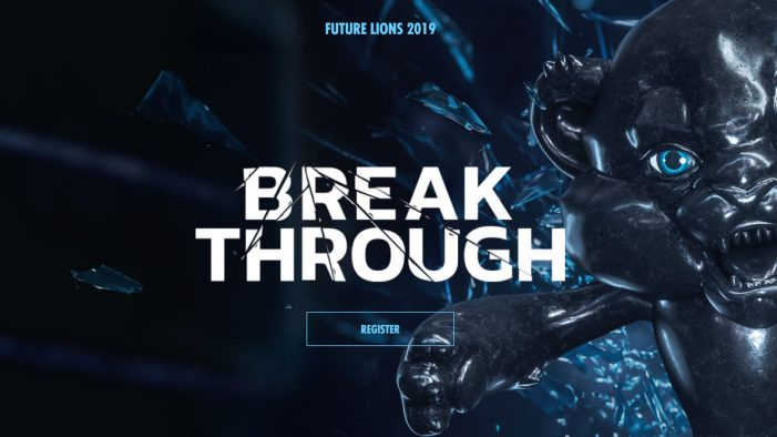 Future Lions challenges students to 'Break Through' in the global competition for inspirational talent