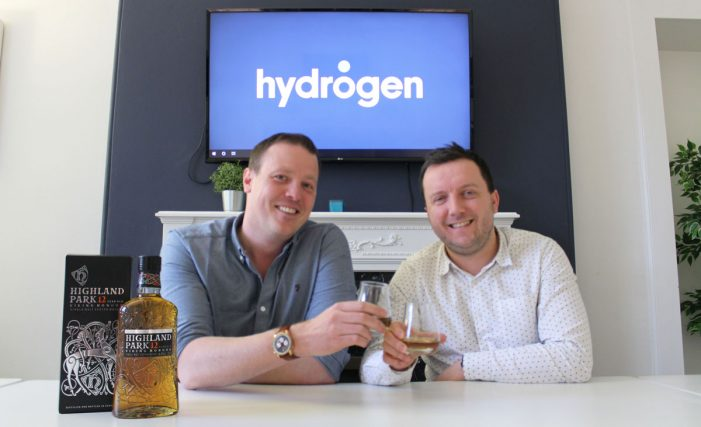 Hydrogen toasts success with global Highland Park appointment