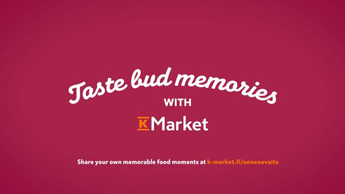 K-Market's Social Experiment in Finland Unlocks Taste Bud Memories