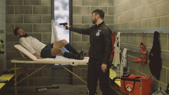 Injured Footballer 'Shot Dead' in Campaign Film for The League Against Cruel Sports