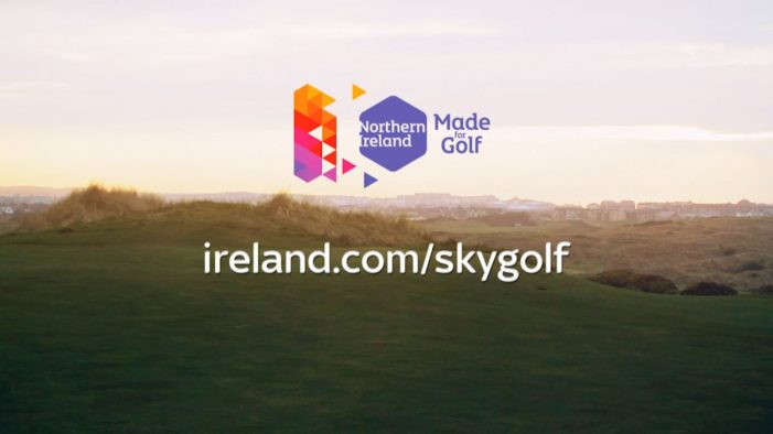 Tourism Ireland partners with Sky to promote Northern Ireland as a premier golfing destination