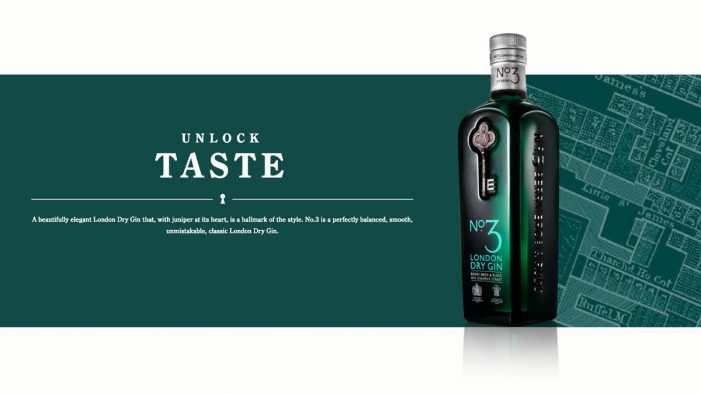 No.3 Gin hires BBD Perfect Storm for global relaunch