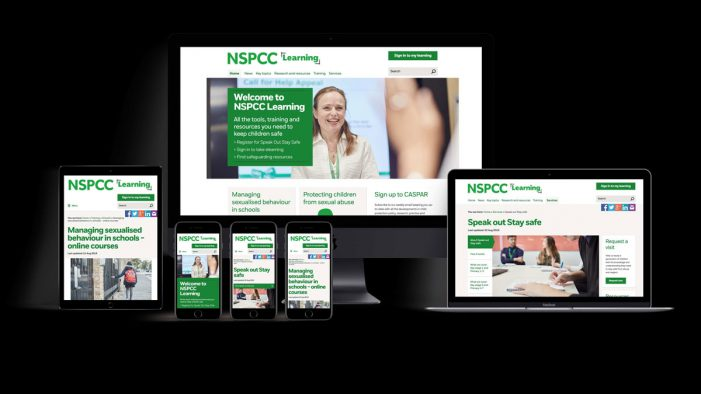 NSPCC Learning aims to become the voice of authority on safeguarding with launch of new website