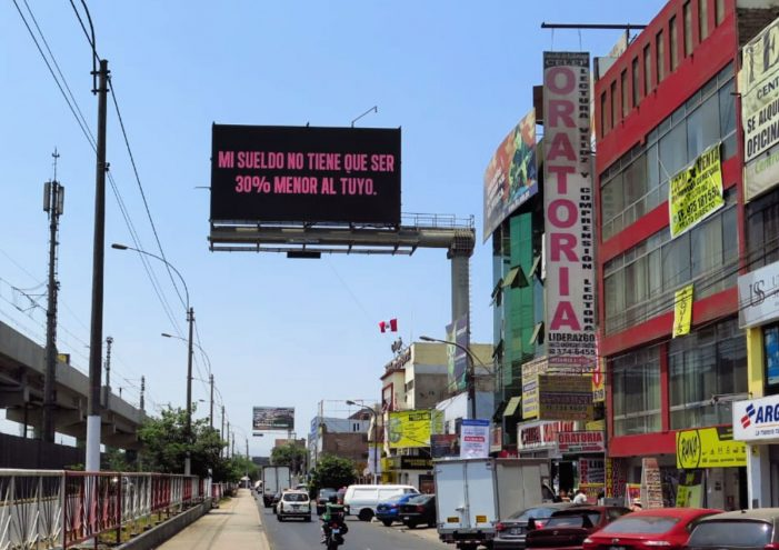 Clear Channel Peru uses data to generate awareness in men for Women's Day