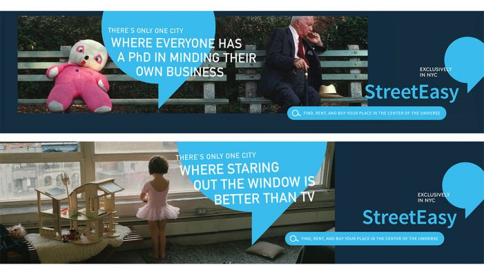 "StreetEasy debuts new ""There's Only One City"" ad campaign"