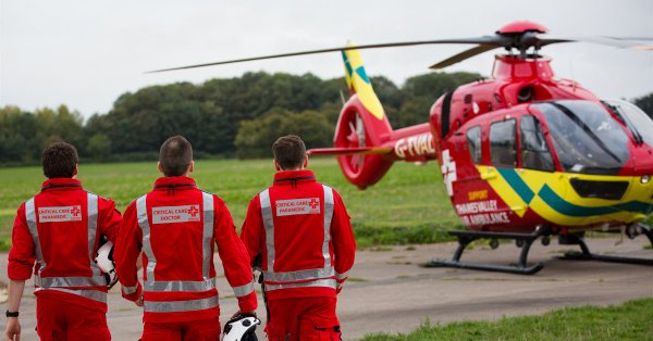 Thames Valley Air Ambulance appoint Hatched as digital agency