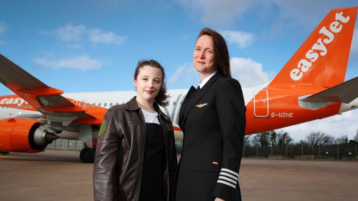 Britain's youngest pilot offered mentorship by easyJet
