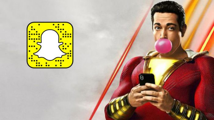Warner Bros. launch first ever sponsored voice-activated Snapchat Lens for Shazam!