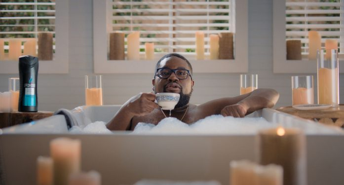 AXE invites young men into the bath to celebrate their 'Bathsculinity' in new campaign by 72andSunny Amsterdam