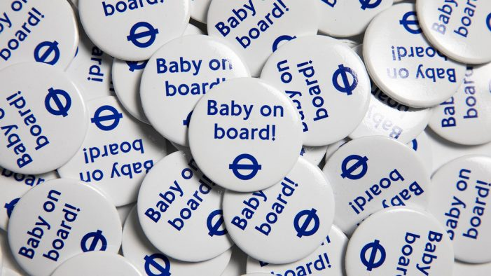 Mothercare and BABYZEN get on board as sponsors of TfL's Baby on Board badge