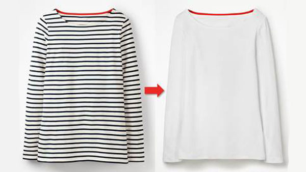 UK retailer responds to Breton top ban with stripe removal service