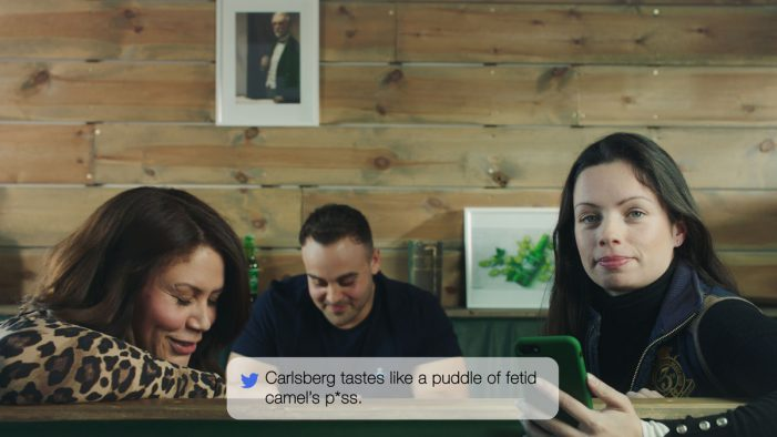 Carlsberg Launches its New Danish Pilsner by Sharing Mean Tweets Written About its Old Beer