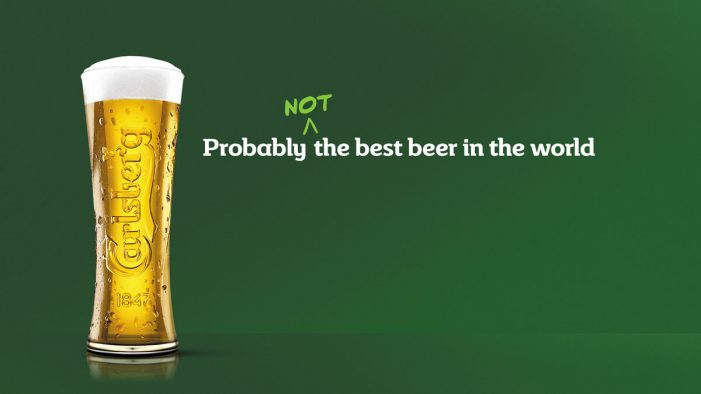 Carlsberg Gets Honest About its Beer in New Campaign by Fold7