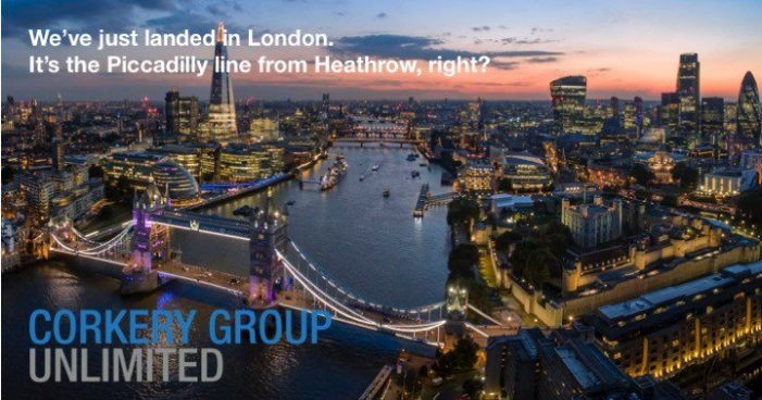 Corkery Group Unlimited Expands to London