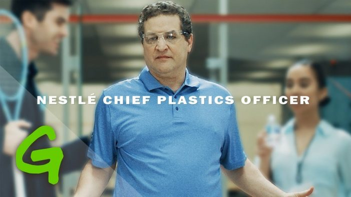 New Greenpeace video parodies Nestlé's plastic monster