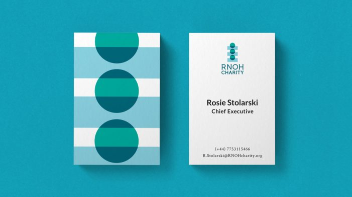 Here Design delivers flexible, dynamic new identity for Royal National Orthopaedic Hospital Charity