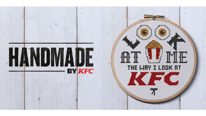 Iris and KFC Launch Cross-Stitch Chicken And It's Finger Stitchin' Good!