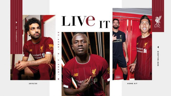 New Balance launches new Liverpool FC home kit