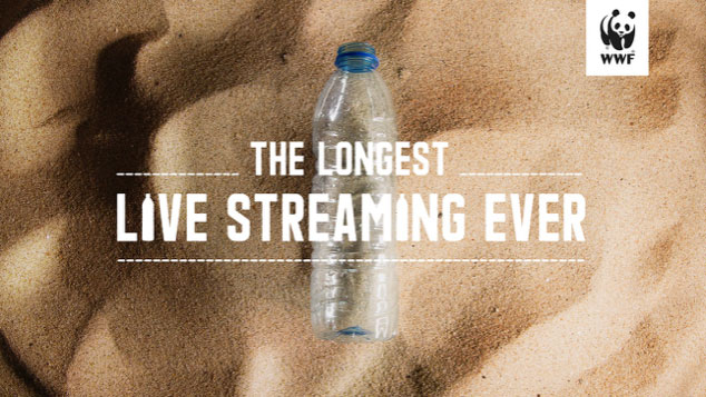 WWF creates a live stream that no one will ever finish watching