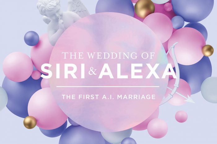 The Wedding of the Year: Siri and Alexa say Yes to each other in Vienna