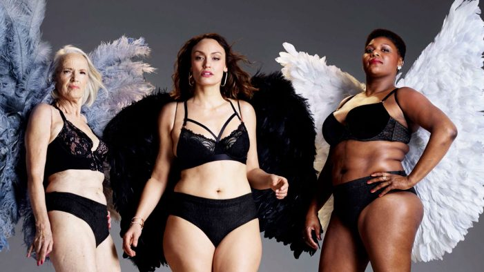 TENA re-imagines Victoria's Secret catwalk image to launch new Silhouette Noir underwear