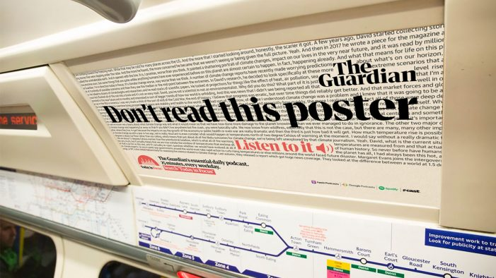 The Guardian launches new campaign creative to promote Today in Focus podcast