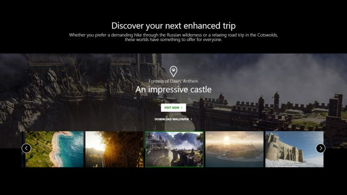 Xbox promotes a new type of travel with 'Visit Xbox' – a tourism campaign for game worlds by McCann London