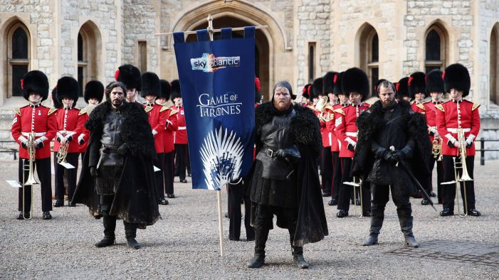 Sky Atlantic teams with the British Army and the Night's Watch to launch Game of Thrones Season 8