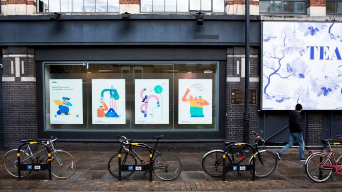 ustwo transforms Shoreditch High Street with stunning new window designs