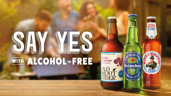 HEINEKEN 'Say Yes' to Alcohol-Free Beer and Cider in New Campaign by Twelve