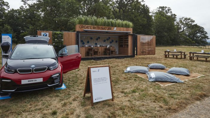 BMW i and National Trust unveil 'Create with Nature' roadshow