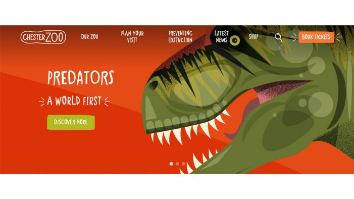 Ultimate helps Chester Zoo prevent extinction with new website