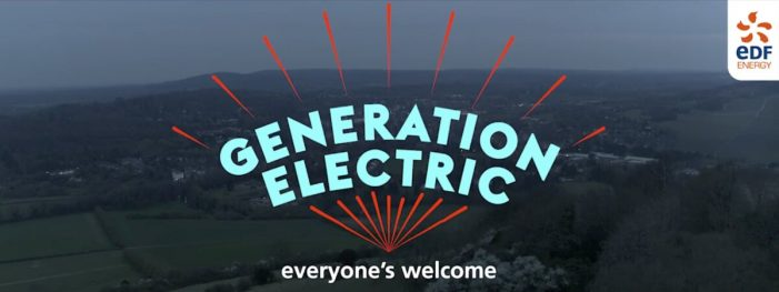EDF Energy drives low carbon revolution with new 'Generation Electric' campaign
