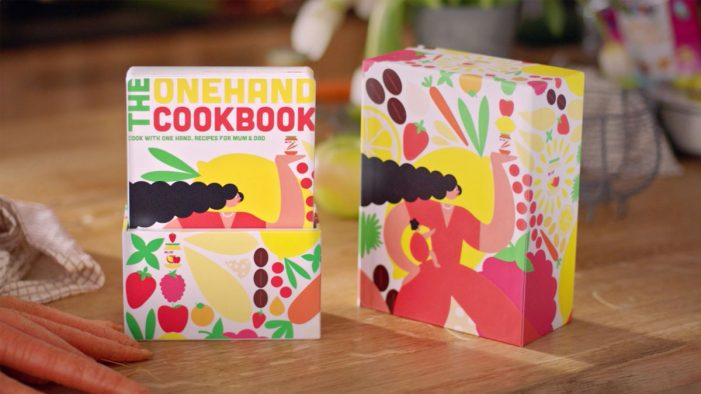 The Onehand-Cookbook from HiPP Takes the Stress Out of Cooking with Young Children