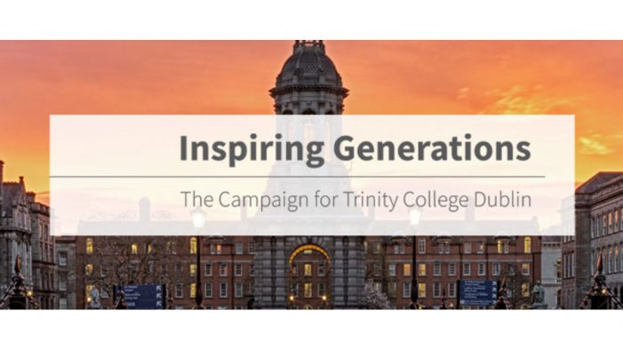 Boys+Girls launches Ireland's largest ever philanthropic campaign for Trinity College Dublin