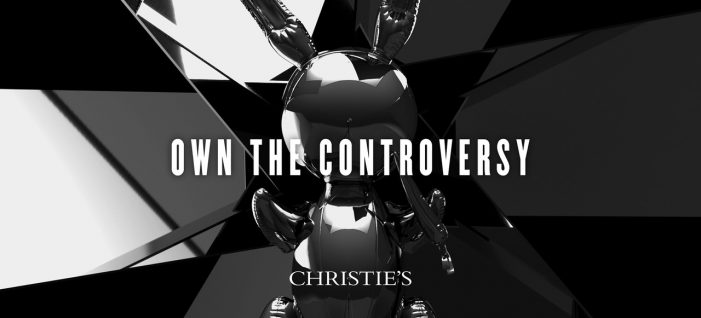 LIDA creates 'Own the Controversy' ad campaign to promote Christie's auction of Jeff Koons' Rabbit sculpture