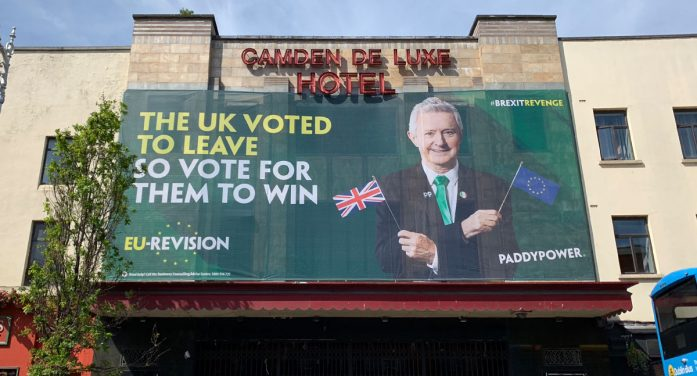 Paddy Power teams with Louis Walsh to troll the UK in their latest campaign