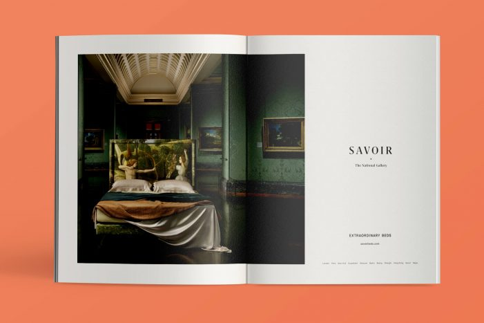 London design studio Without rebrands the world's most luxurious bedmaker, Savoir
