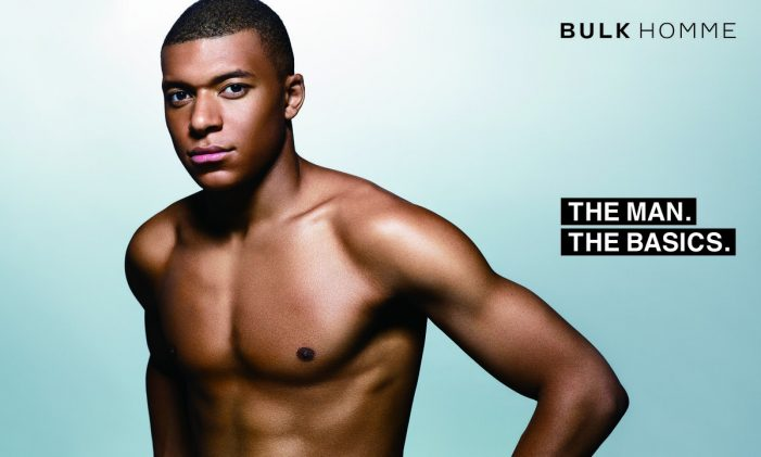 BULK HOMME enlists football sensation Kylian Mbappé as global brand ambassador
