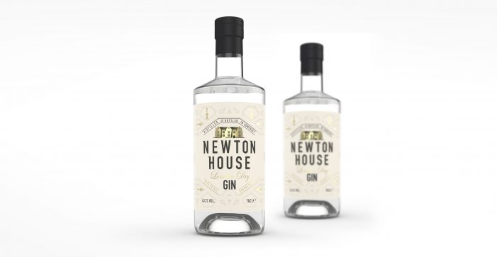 Design Happy Provides Fresh New Branding for Newton House Gin