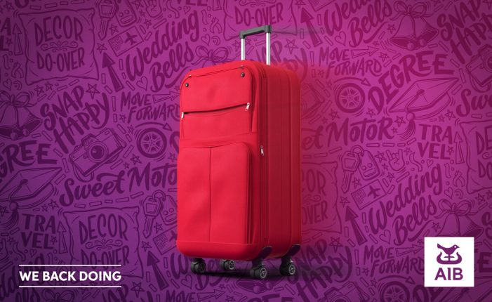 A Forgotten Little Red Suitcase Realises It's Dreams in Endearing TVC for AIB Loans