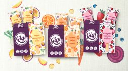 Plant-based gelato Gigi launches with category-changing branding by Straight Forward Design