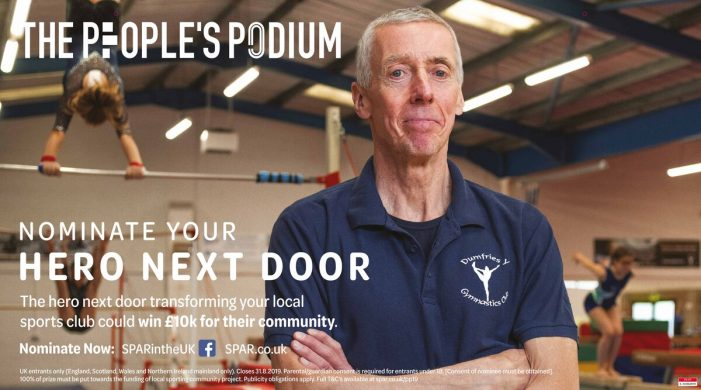 SPAR aims to celebrate the heroes next door in new People's Podium campaign