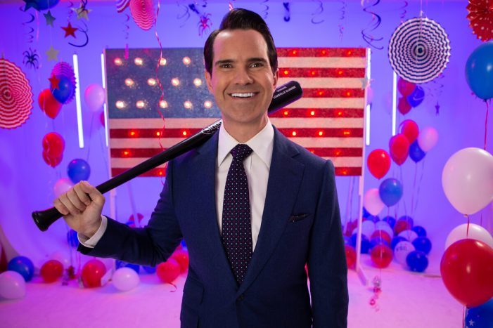 Jimmy Carr pitches baseball to Brits in time for Mitel & MLB present London series 19