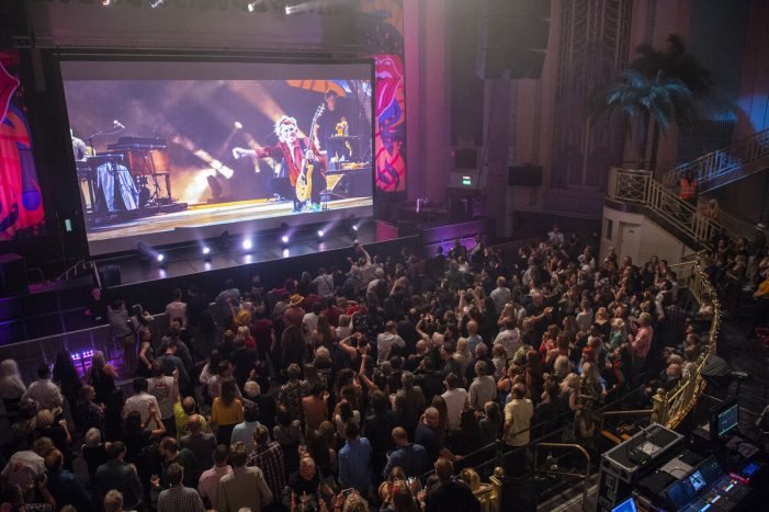 Rebel Vision launch immersive entertainment business with screening of Rolling Stones' Havana Moon concert