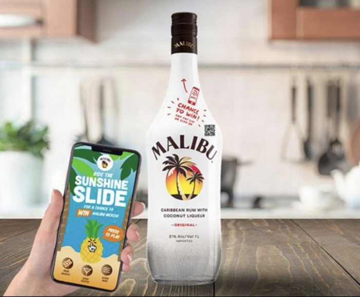 Malibu adds content into its caps thanks to Guala Closures' innovative cap with NFC technology
