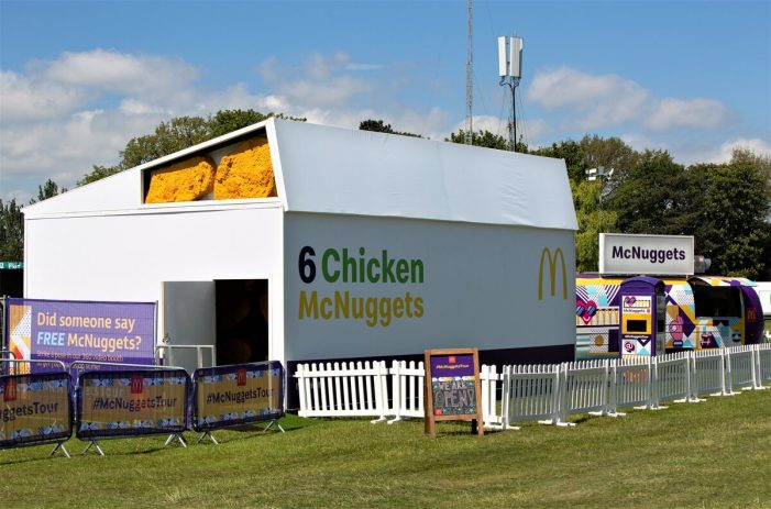McDonald's announces Festival Tour with immersive McNuggets experience